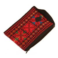 Hand-Embroidered Smartphone Pouch & Coin Purse