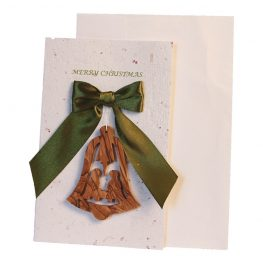 Christmas Card & Ornament - Bell Nativity