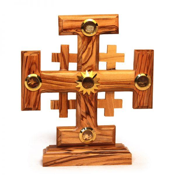 OCJS17-930-1 Ornate Jerusalem Cross