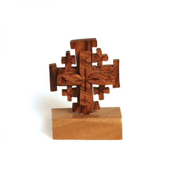 Jerusalem Cross on Stand