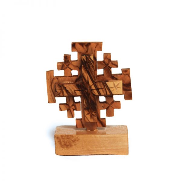 Jerusalem Cross on Stand