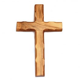 OCP12-917 Olive Wood Plain Cross