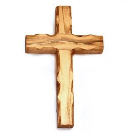 OCP16-1226 Olive Wood Plain Cross