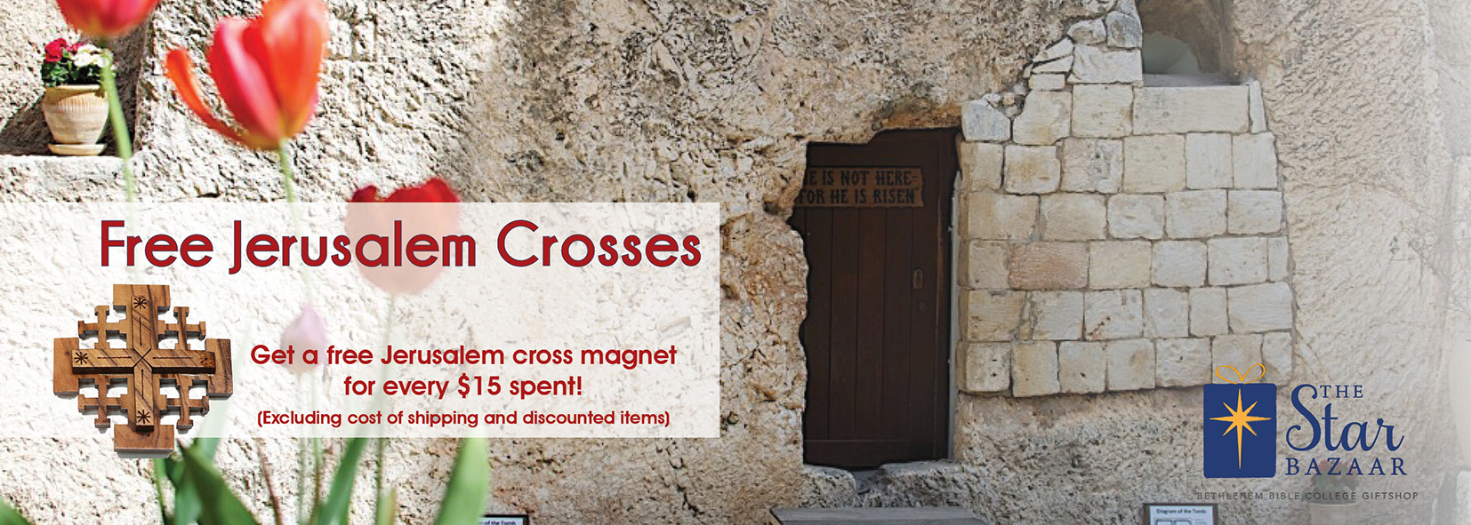 Hold Fast - Free Pocket Cross for Easter