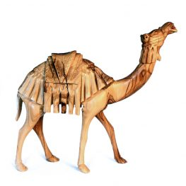 Camel Carving Olive Wood