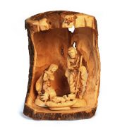 ONLSC-910-1.jpg Standing Olive Wood Nativity Set Carved Detailed Faces