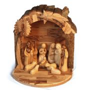 ONRBR-1094-1.jpg Round Bark Roof Nativity