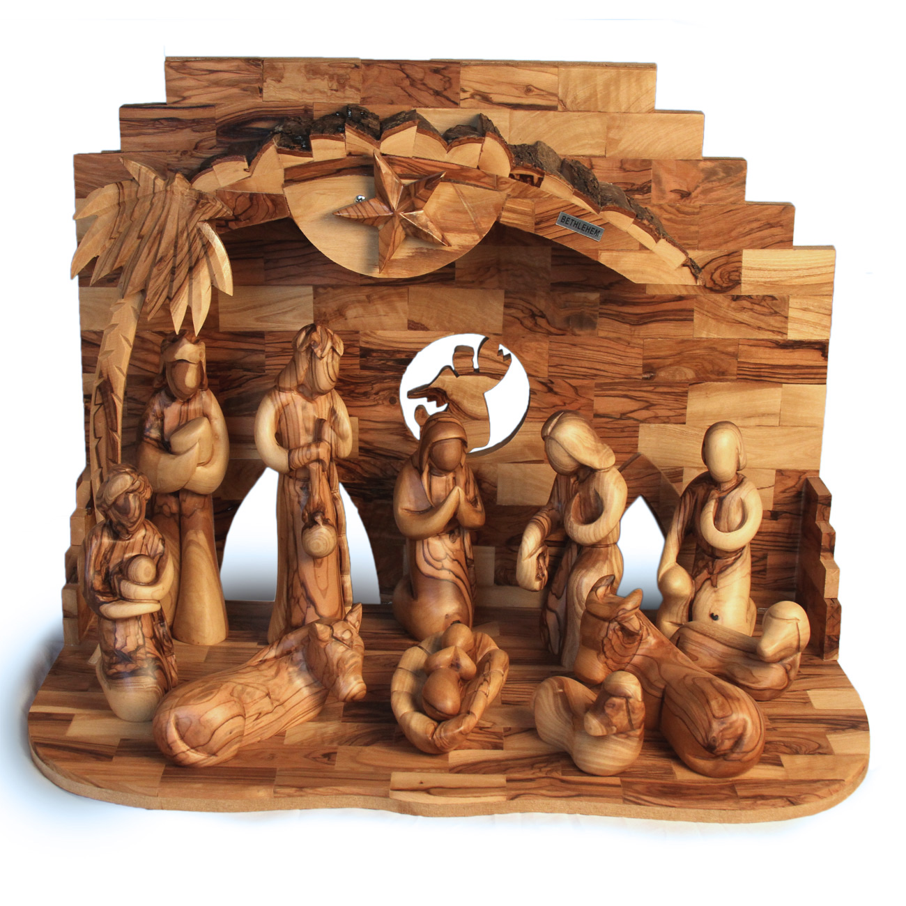 ONXLF-858-3.jpg Extra Large Musical Nativity Set
