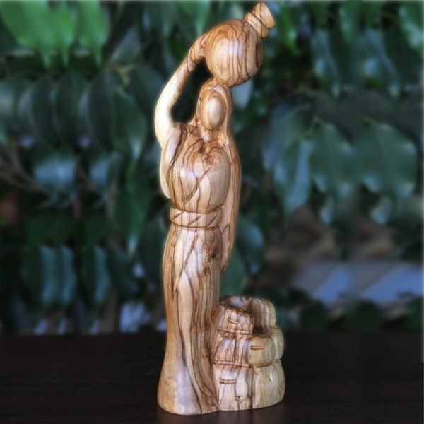 Olive wood carving from bethlehem
