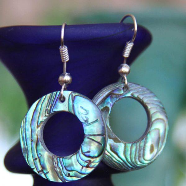 abalone-round-earrings MEACLWC/713